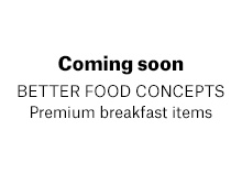 Premium Breakfast Items
