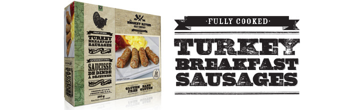 Turkey Sausages now available at Costco & Sobeys