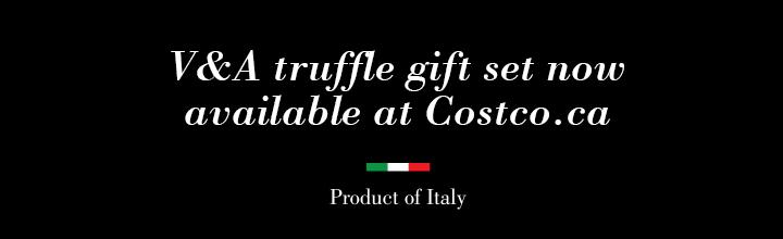 V&A truffle gift set available at Costco.ca