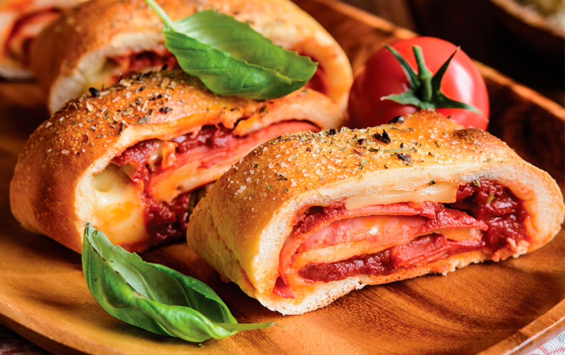 New from Pronto Selections Stuffed Panini