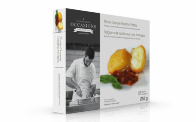 New—Occasions Retail-Ready Hors D'oeuvres