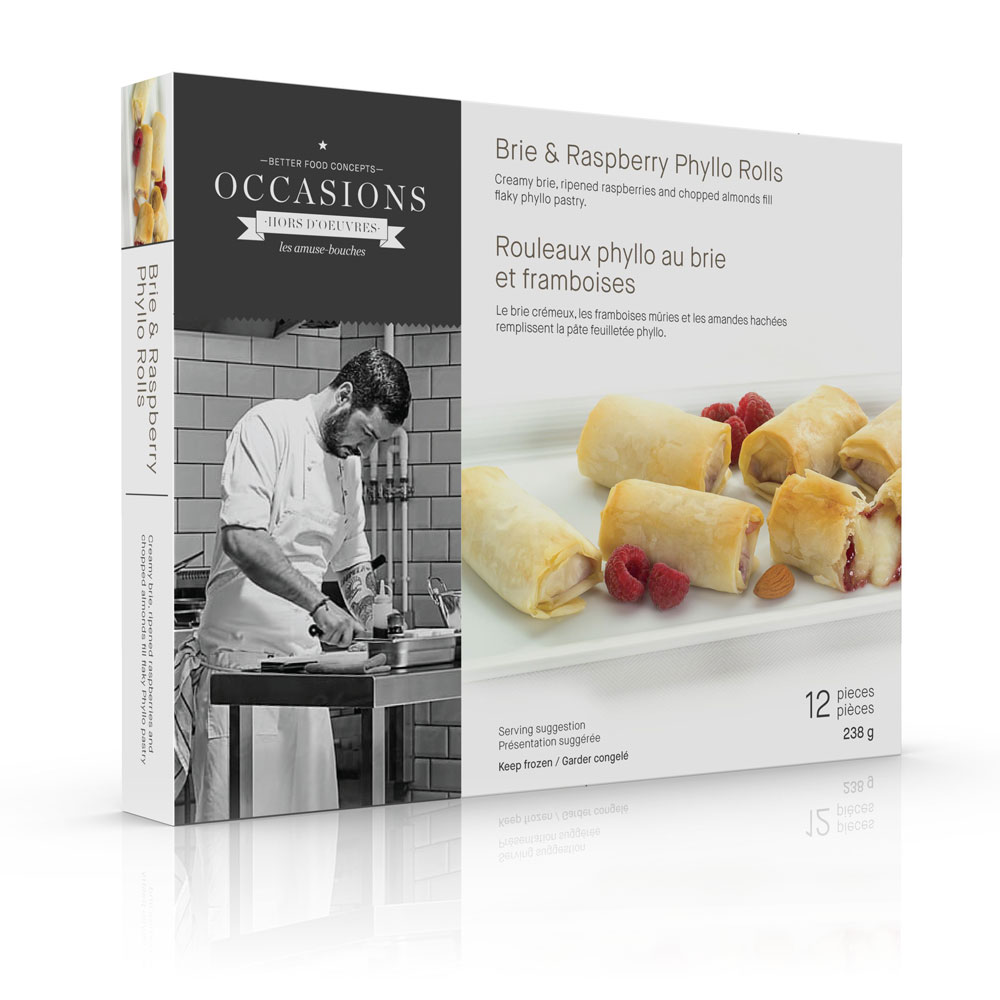Brie-Raspberry-Almond-Phyllo-Roll package