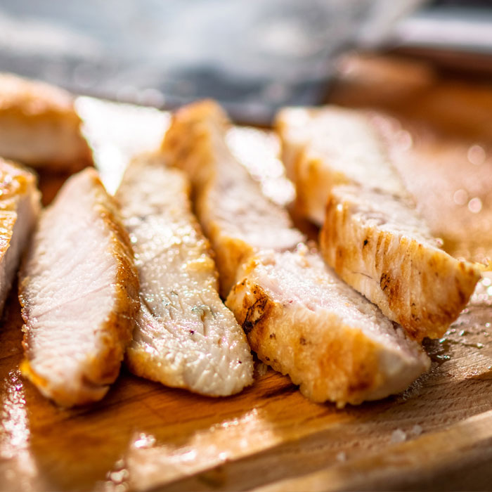 Cooked-Cajun-Chicken-Breast-Strips