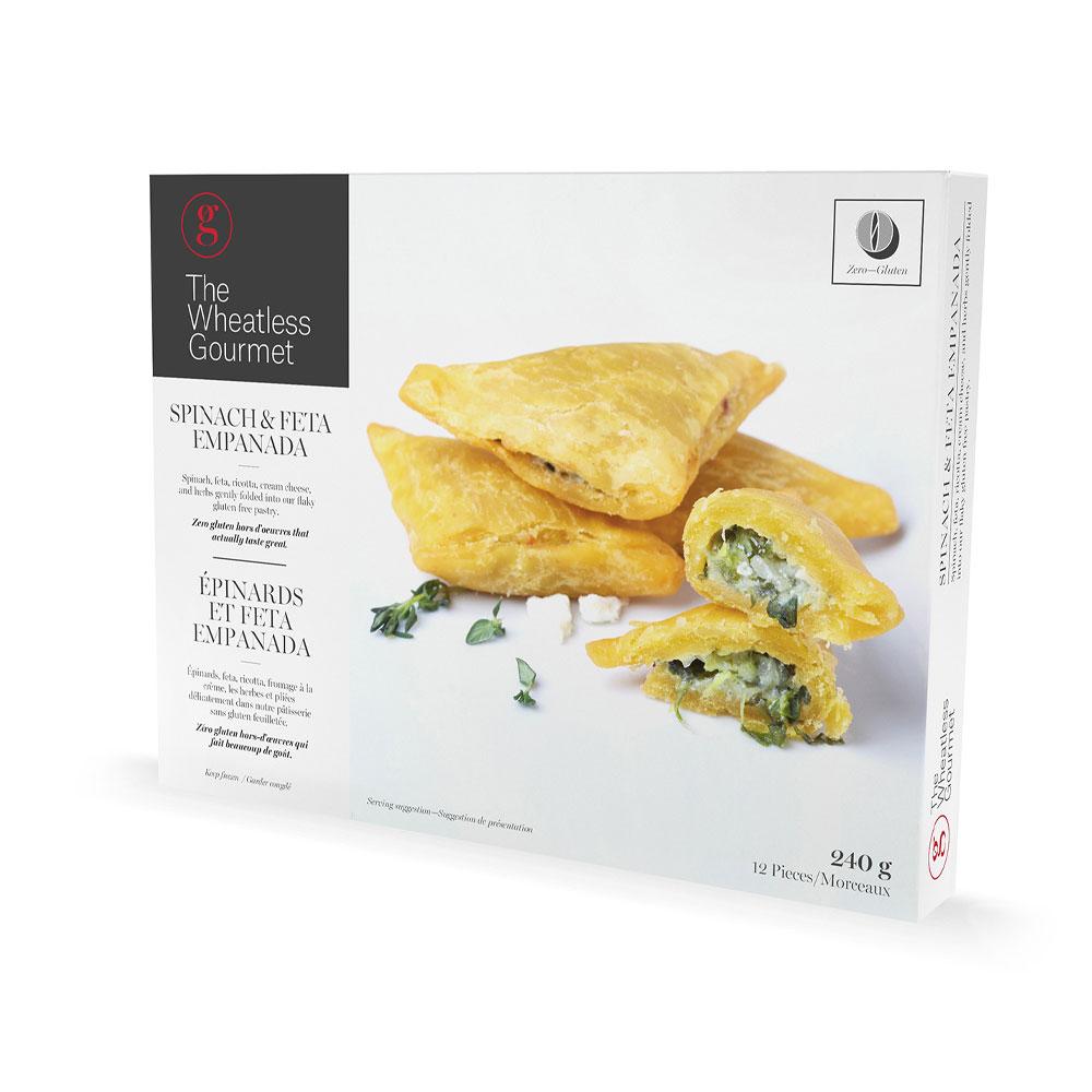 Spinach-Empanada package
