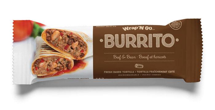 beef-and-bean burrito