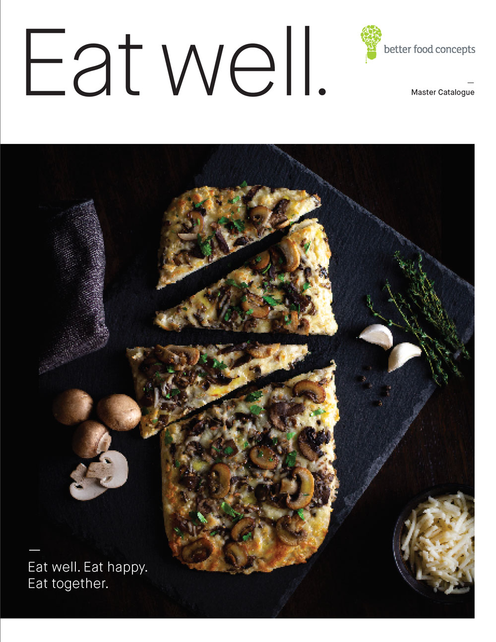 Eat Well catalogue cover