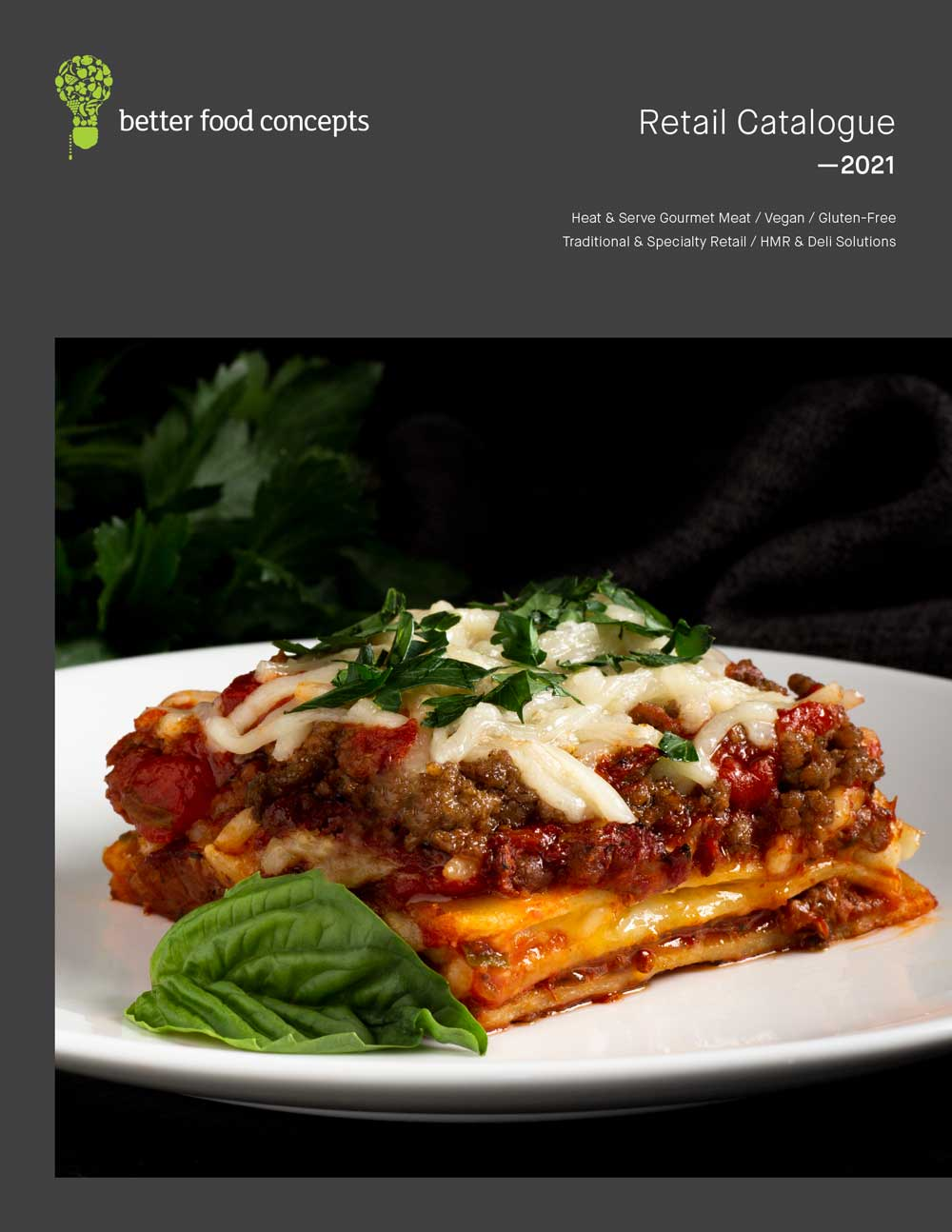Eat Well retail catalogue cover
