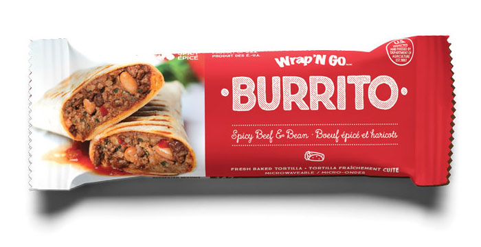 spicy-beef-and-bean burrito